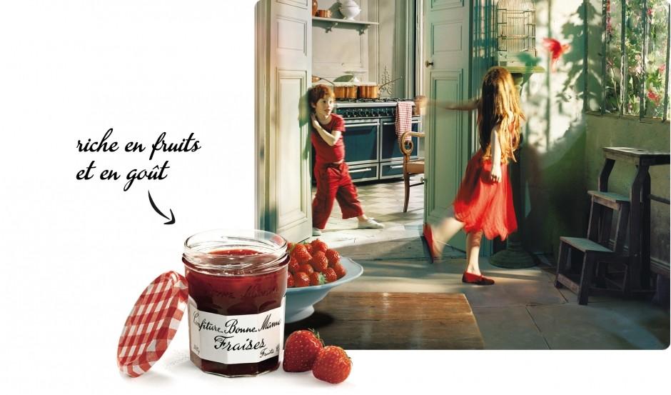Euro Food Depot Bonne Maman Strawberry Preserves Mini Jar Jam