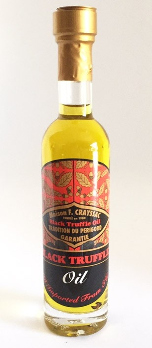 Black Truffle Olive Oil 100ml F.Crayssac