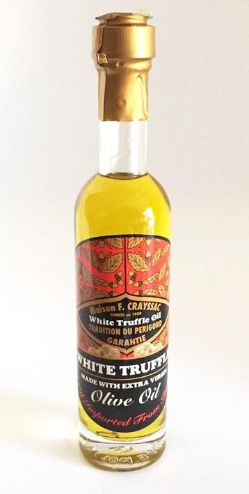 White Truffle Olive Oil - Huile d'olive à la Truffe Blanche 100ml
