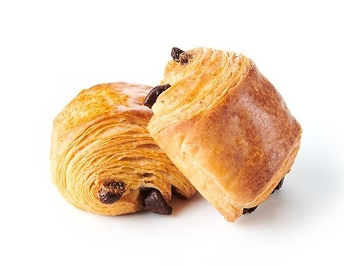 Ready to bake French mini chocolate croissant (55 Units)