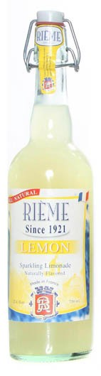 Rieme - Sparkling lemon lemonade (25.4FL/750ml)