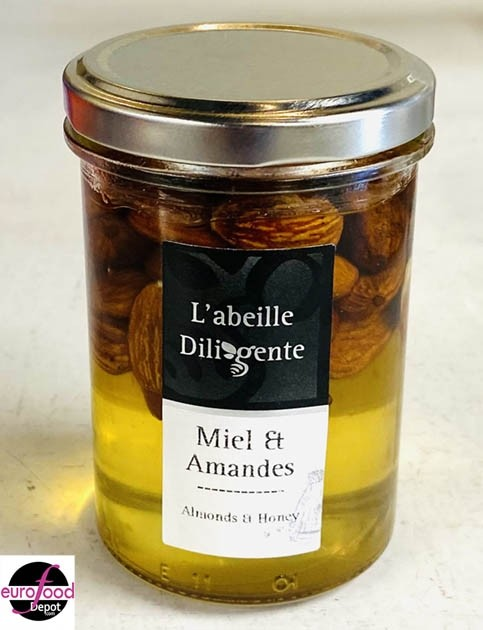 Acacia honey w/ almonds from Abeille Diligente