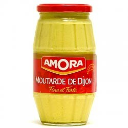 Amora Mustard - French Strong Dijon Mustard (15.5 oz/440g)