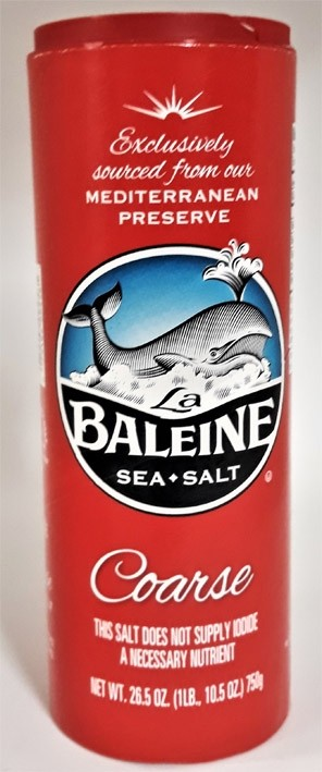 La Baleine coarse Sea Salt 750 Gr