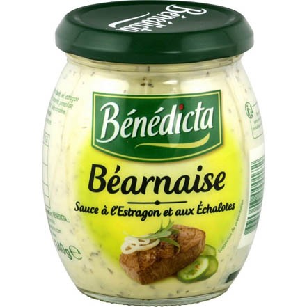 Benedicta Bearnaise Sauce with Tarragon & Shallot - Sauce Bearnaise (8.8oz/235g)