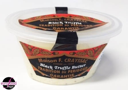 Black Truffle Butter - Beurre à la truffe noire - F.Crayssac