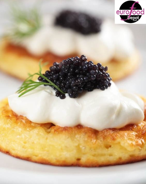 Ossetra Caviar Combo