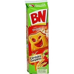 BN Strawberry french cookies