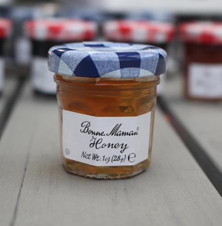 2 Bonne Maman Honey Preserves - Mini Jar Jam (1oz/28g X2)