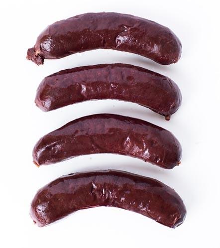Boudin Noir / Blood Sausage Fabrique-delices 4 Link Pack - 1 Lb - All natural