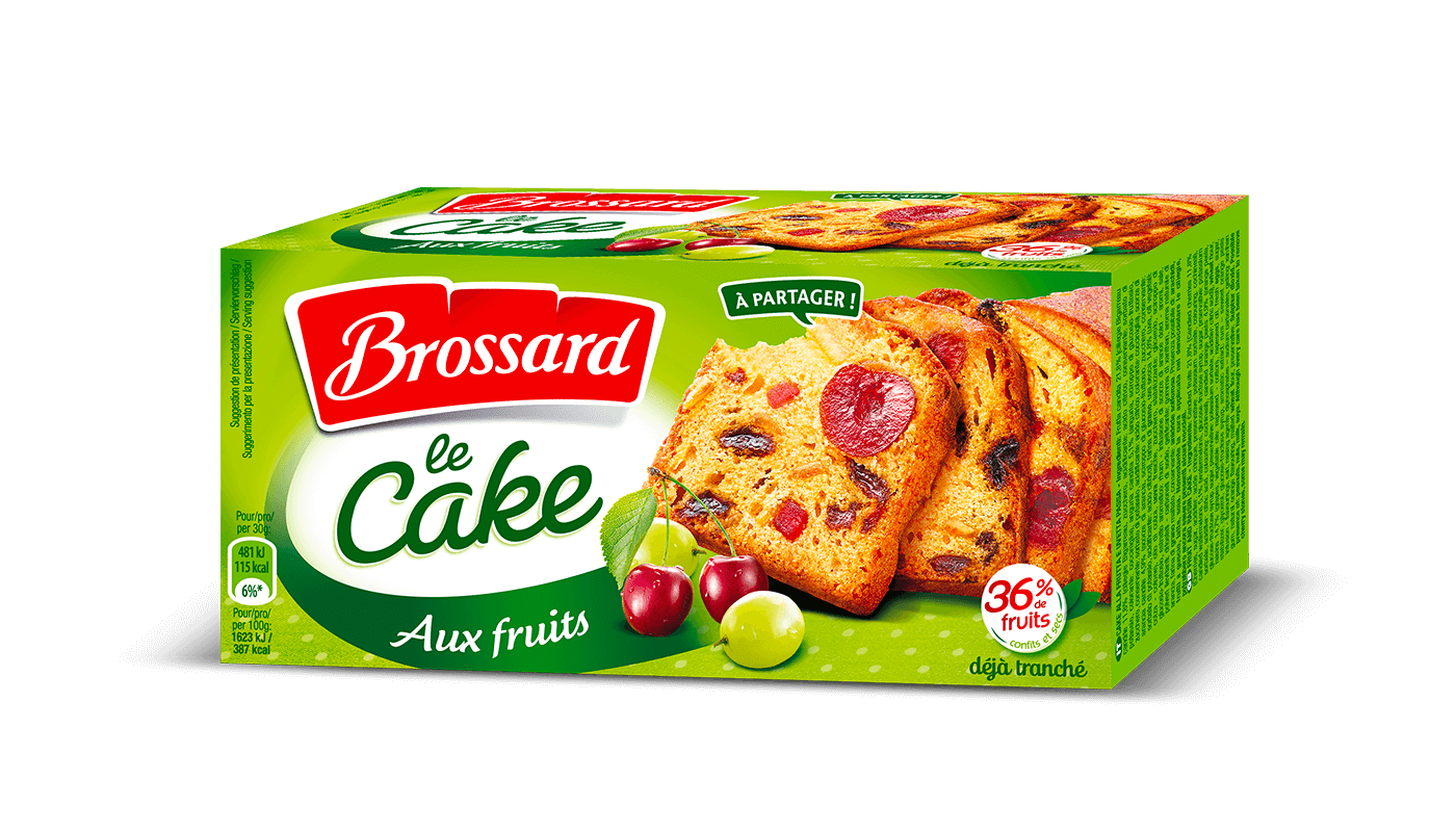 Brossard Fruits Cake - Cake aux fruits 300g (10.6oz)