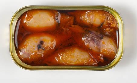 Stuffed Calamari in American Sauce - Morgada (4.06oz/115g)