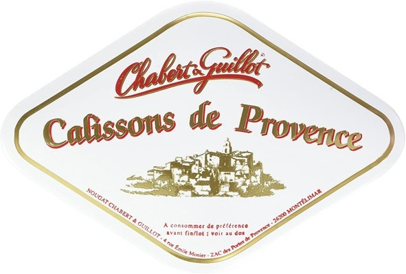 Calissons French Traditional Candies, Diamond-shaped Box