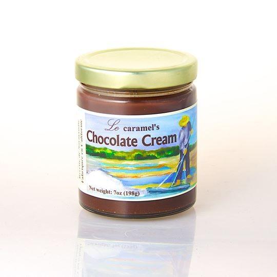French Chocolate Caramel Cream