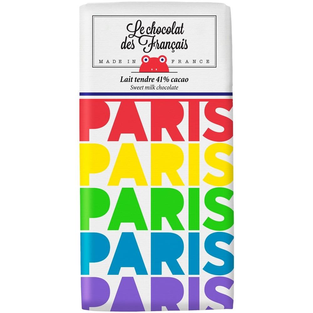 """Le chocolat des Francais/ """"Paris Multicolore"""""""