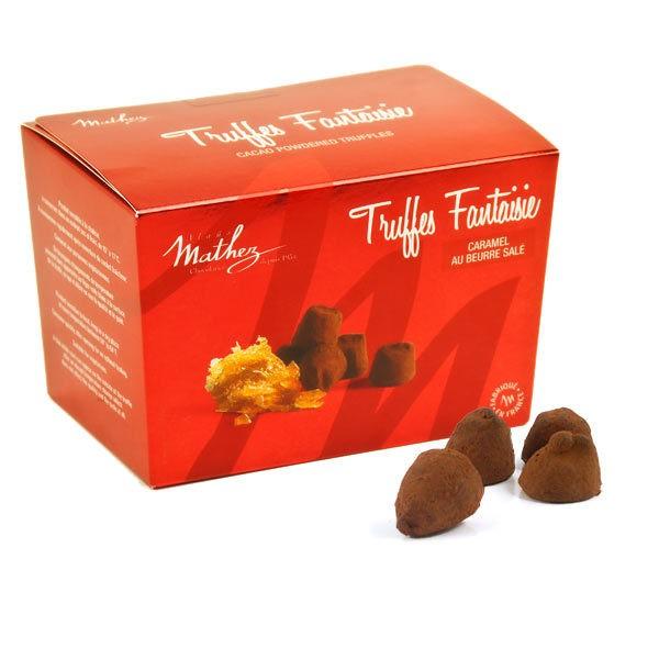 Cocoa Truffles with Caramel Specks - Mathez (8.8oz/250g)