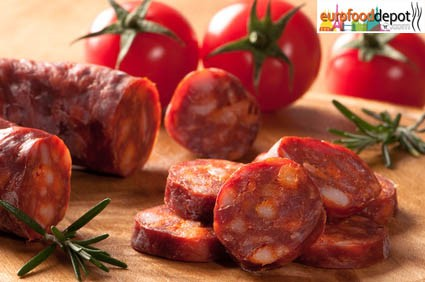 Dry cured Chorizo  (spanish) Premium Quality/Fabrique Delices (8 Oz/220g)