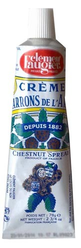 Chestnut Spread Puree de Marrons in Tube by Clement Faugier (2.75 oz/0.78g)