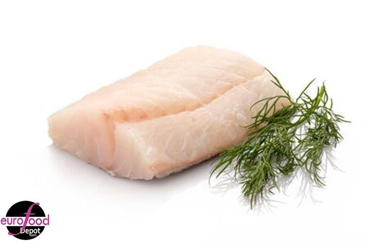 Icelandic Atlantic Cod (Morue), Skin On (4 pieces per pack)
