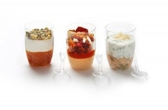 Cold Appetizers with Savory cups ( 36 units )