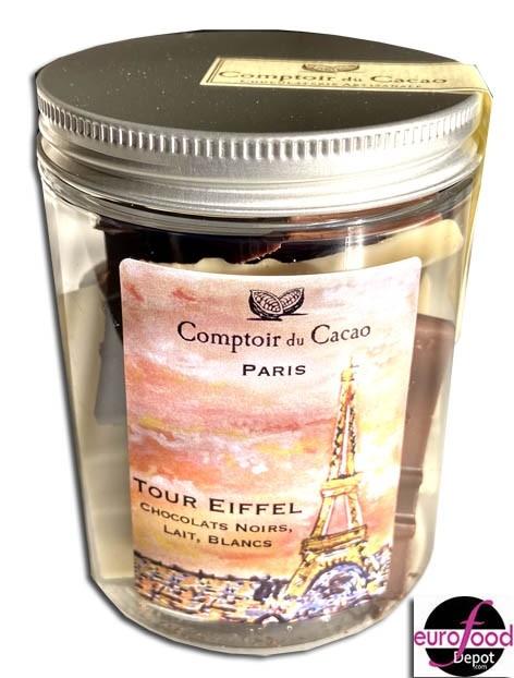 Eiffel tower chocolates - Comptoir du Cacao (3.88oz/110g)
