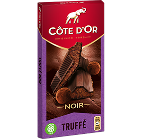 Cote d'Or Dark Chocolate Truffle Filled Bar (6.7oz/190g)