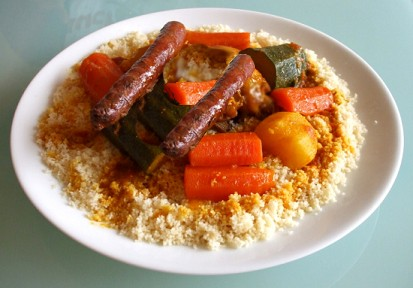 Kit Organic Couscous Merguez For 4/5 pers
