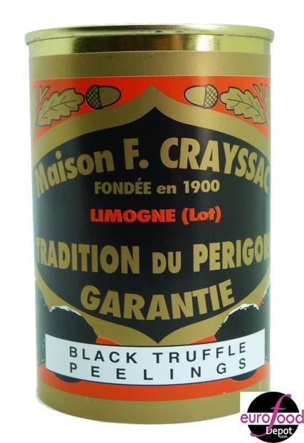 Black Truffle peelings from F. Crayssac (14.4oz/400g)