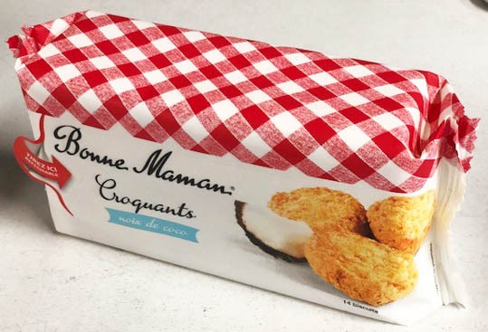 Crunchy Coconut Cookie by Bonne Maman