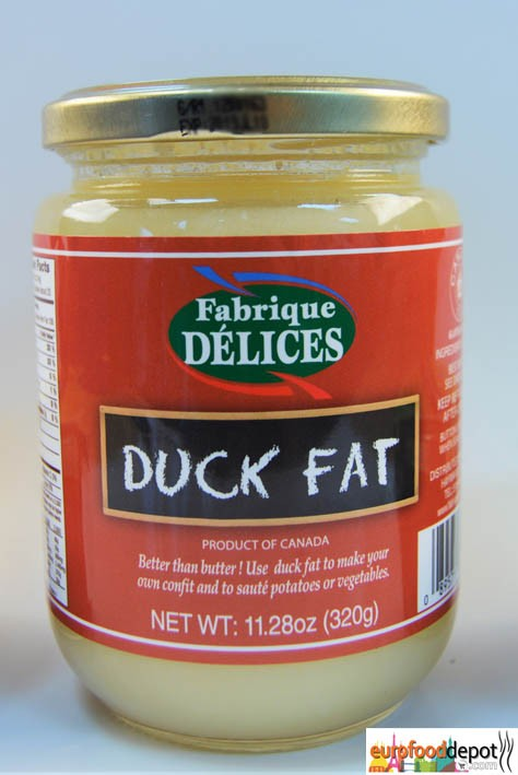 Rendered Duck Fat - Graisse de Canard - Fafrique Delice