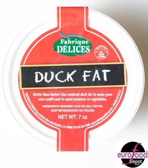 Rendered Duck Fat - Graisse de Canard (200g/7oz)
