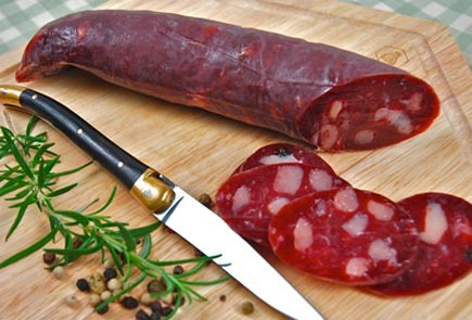 Cured Duck Salami (100% Duck Meat) saucisson de canard