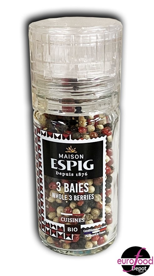 Organic Whole 3 Berries by Espig (36g/1.26oz)