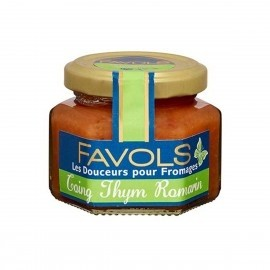 Quince Thyme & Rosemary Spread for blue Cheeses - Favols (3.88oz/110g)