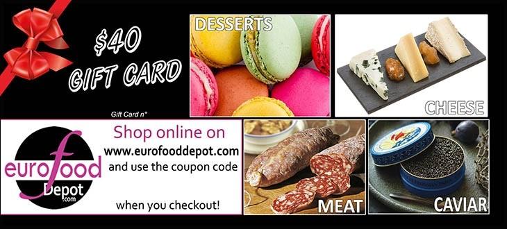 Gift Card Gourmet Market $40