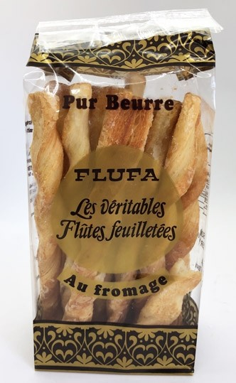 Flufa, flutes feuilletes/ Cheese Cracker