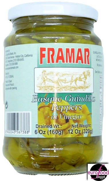Framar Basque Guindilla peppers (160g/6oz)