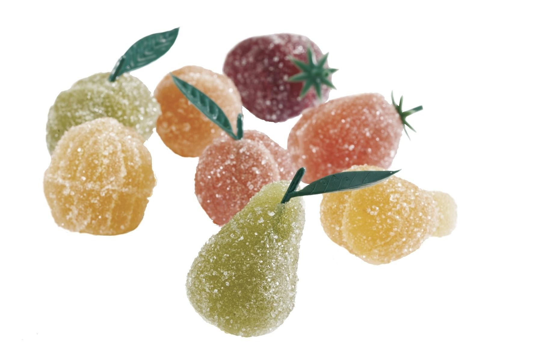 box of four Fruit Jellies (2.8oz/80g)