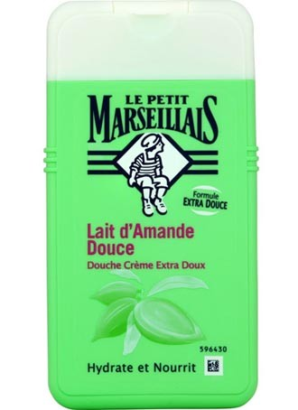 French Shower Cream Extra Gentle - Le Petit Marseillais - Sweet Almond