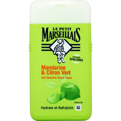 French Shower Gel - Le Petit Marseillais Tangerine & Lime (Gel Douche)