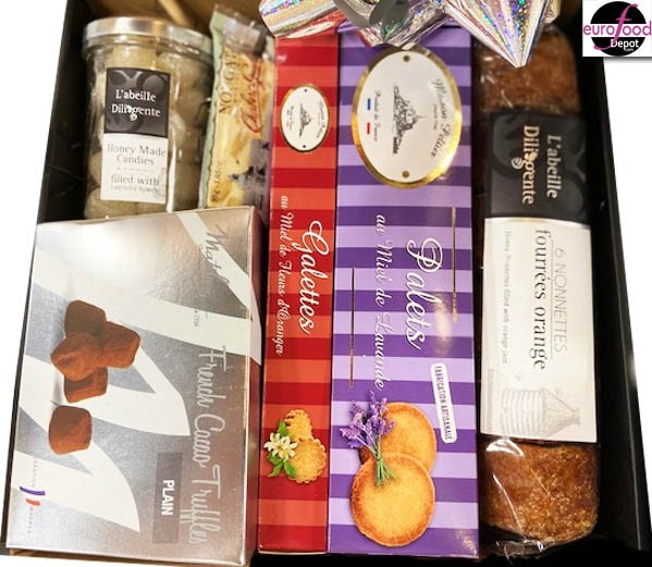 Black Gift Box No.43/ French Gourmet (6 Items)
