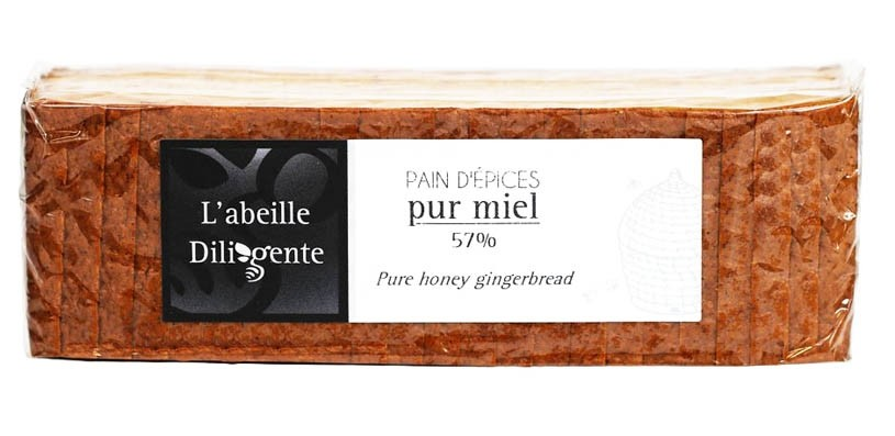French Gingerbread traditional pure honey - Pain d'Epices (10.6oz/300g)