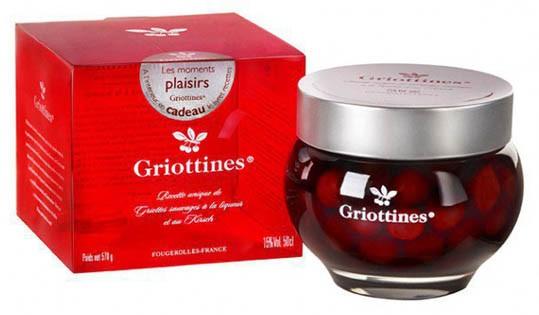 Griottines (cherries in Kirsch) in Jar 400g