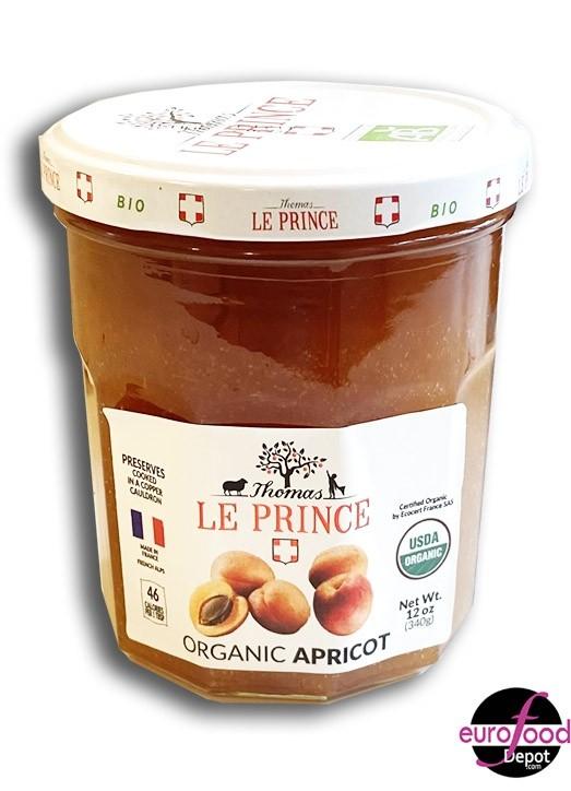 Organic Apricot Jam Thomas Le Prince