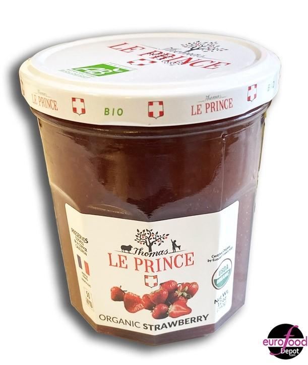 Organic Strawberry Jam Thomas Le Prince