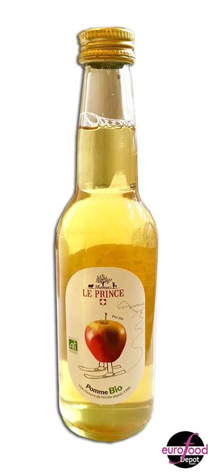 Organic Apple juice Thomas Le Prince 33cl