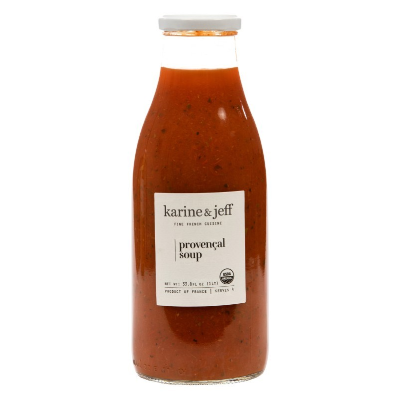 Organic Provençal Soup Vegan by Karine and Jeff (1lt/33.8 fl oz)