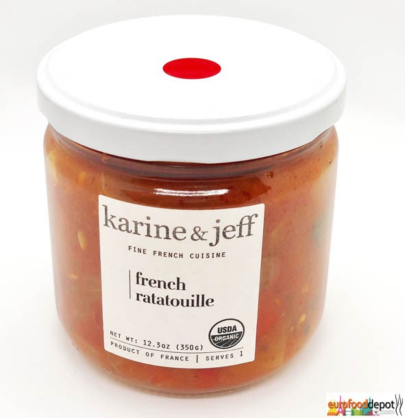 Organic Ratatouille Vegan by Karine and Jeff (350gr /12.3oz)