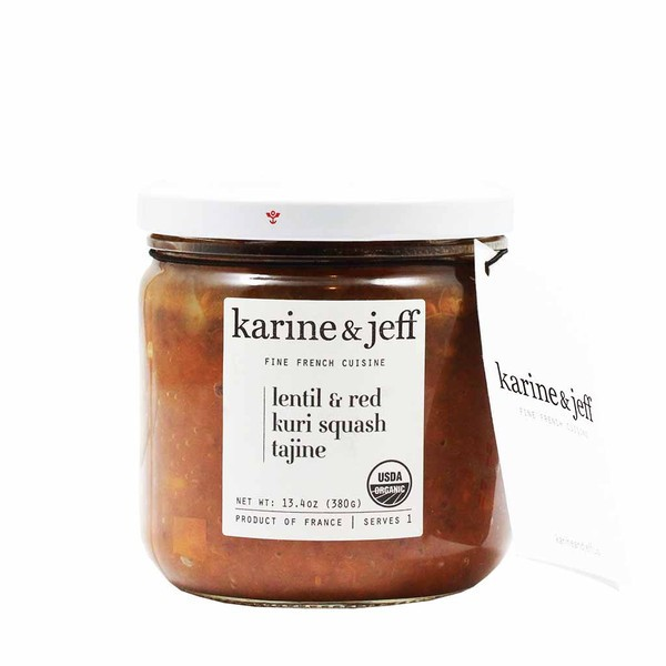 Organic Lentil & red kuri squash by Karine & Jeff (380gr/13.4oz)
