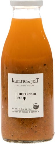 Organic Moroccan Soup Vegan by Karine and Jeff (1lt/33.8 fl oz)